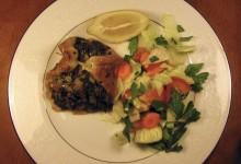 Smoked Stuffed Flounder