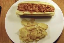 BBQ-style Smoked Chicken Sandwiches